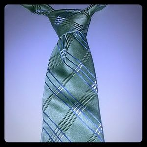 Michael Michael Kors Tie Green with Blue